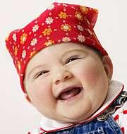 Iloinen vauva