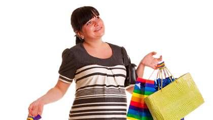 Odottaja ostoksilla