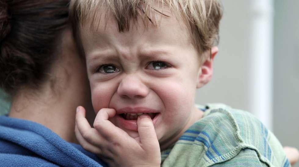 Voiko lapselle huutaminen, eksymiskokemus tai hoitoon jättäminen aiheuttaa lapselle traumoja? Kuva: iStock