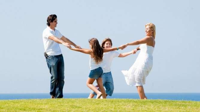 Perheonni ei ole hedonistista. Sen eteen on tehtävä paljon töitä.