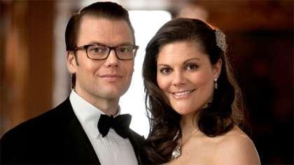 Victoria ja Daniel (kuva: Ruotsin hovi)