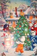 Nallekalenteri. Hinta: 3,95