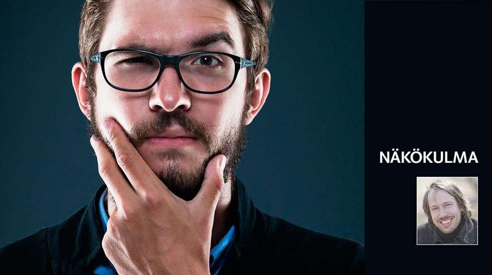 """""""Olenko minä aisankannattaja vai biologinen isä?"""" (Kuvat: Shutterstock ja Petteri Kivimäki))"""