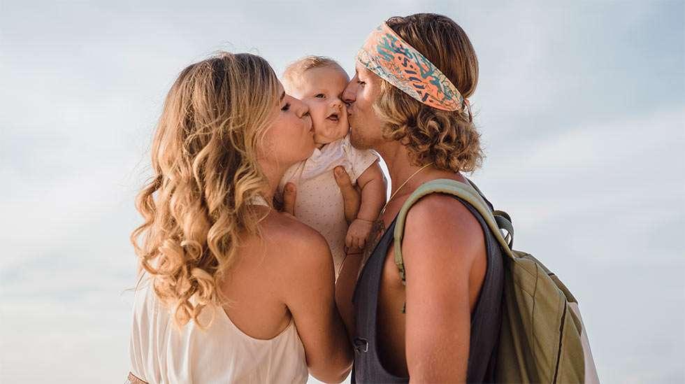 Onko vanhemmuutesi peräisin hippivuosilta? (Kuva: Shutterstock)
