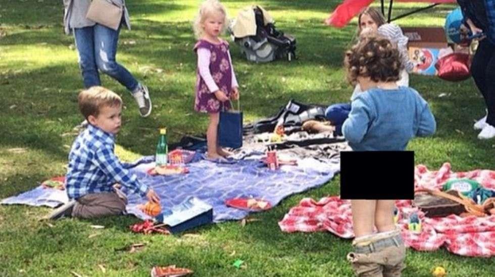 Lasten piknikillä voi tapahtua mitä vain! Kuva: @eurobusymummy