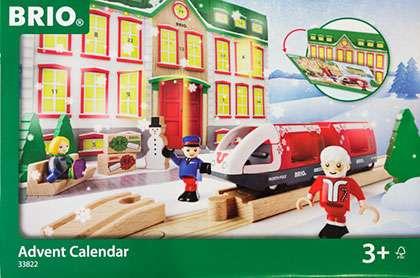 Brio-kalenteri on niin äiti- kuin lapsiraadinkin mielestä hyvä valinta.