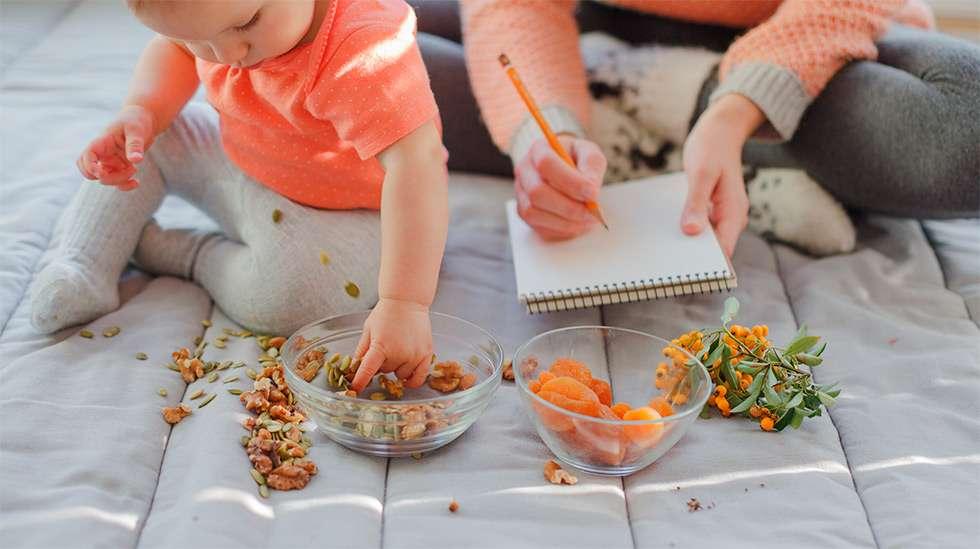 Vegaaniruokavalio on terveellinen tapa aloittaa kiinteät. (Kuva: Shutterstock)