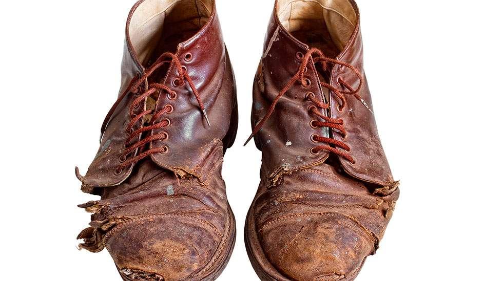 Likainen kenkä on maukkaampi kuin puhdas kenkä.