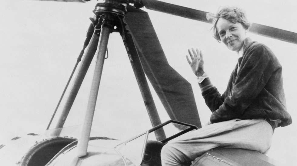 Tyttöjen suosituin nimi Englannissa vuonna 2015 oli Amelia. Liekö vanhemmilla ollut mielessä tämä legendaarinen lentäjänainen, Amelia Earhart?