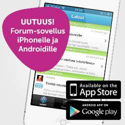 Download the app for Vau.fi forum