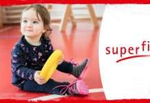 Taapero Superfit-lastenkengissä