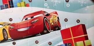 Autot 3 -joulukalenteri