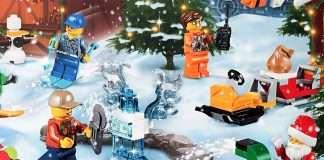 Lego City -joulukalenteri