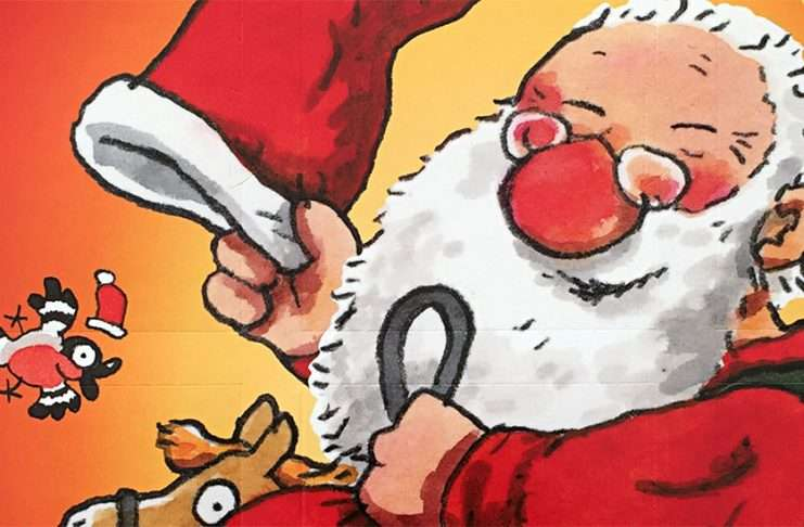 Mauri Kunnaksen joulukirjakalenterin kansikuva