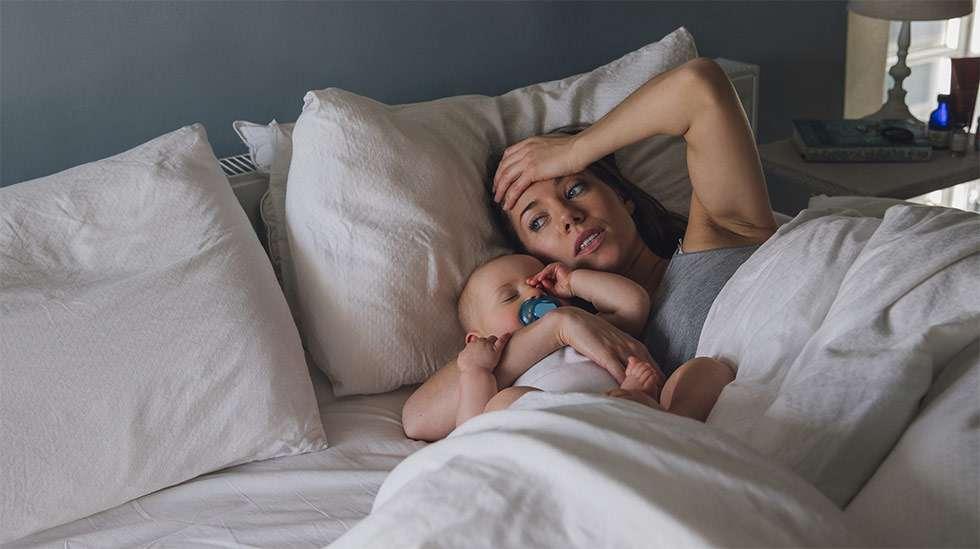 kuinka pitkään vauva nukkuu yöllä