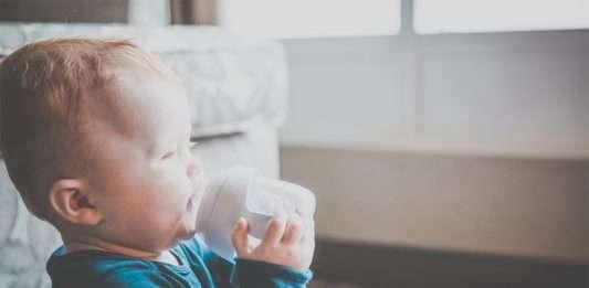 vauvalle vettä