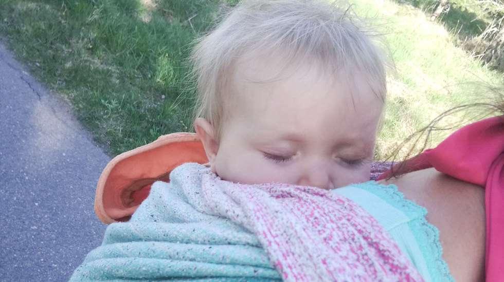 Kantoliinassa on hyvä nukkua, kun flunssa ja korvatulehdus kiusaavat.