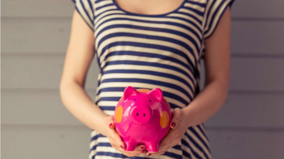 Monelle lasta odottavalle perheelle talouden pelastus on työssäkäyvä puoliso, mutta yksinhuoltajalla tätä mahdollisuutta ei ole.  Kuva: iStock