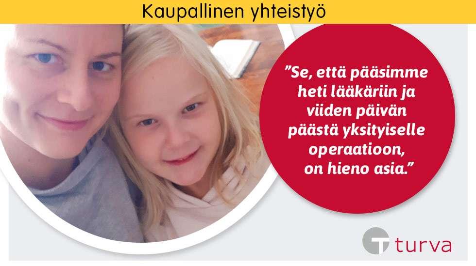 Kun Julian Venla-tytär sairastui korvatulehdukseen, apu löytyi keskellä yötä puhelimesta