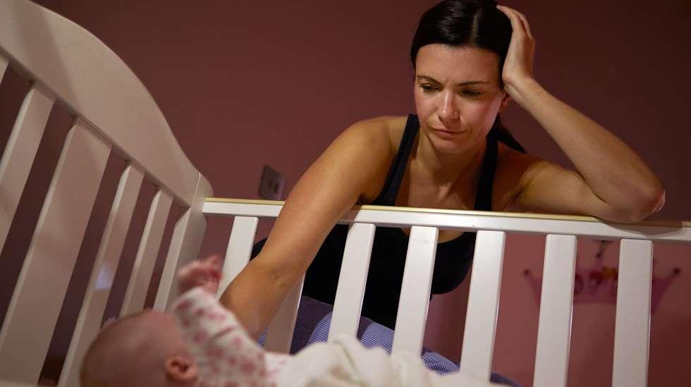 Baby blues saa synnyttäneen äidin herkistymään. Kuva: iStock