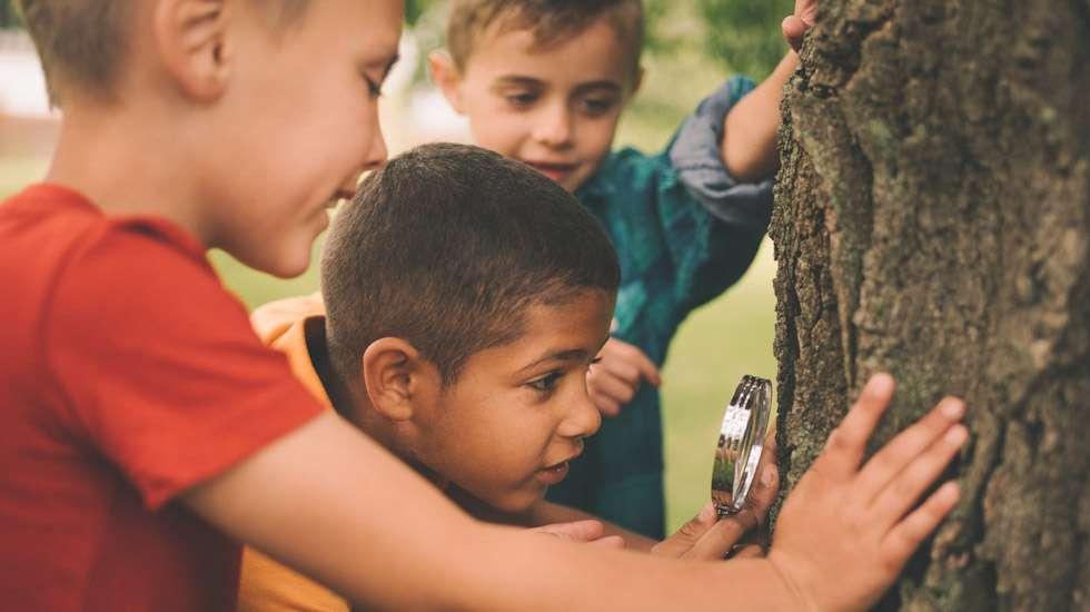 Kevät ja heräilevä luonto tarjoavat monia mahdollisuuksia ruuduttomaan tekemiseen. Kuva: iStock