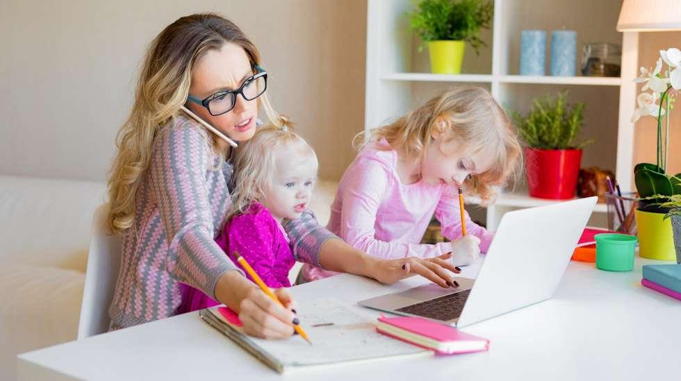 Kotona, töissä – vai kenties kotona töissä? Kuva: iStock