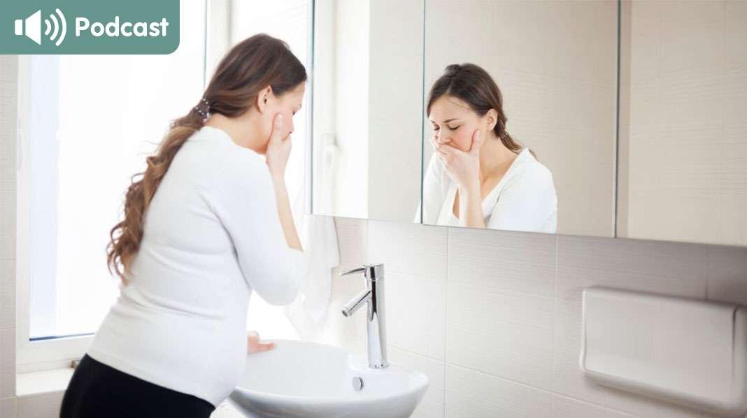 Raskauspahoinvointi on yksi odotusajan tyypillisimmistä vaivoista – mutta miten sitä voi torjua? Kuva: iStock