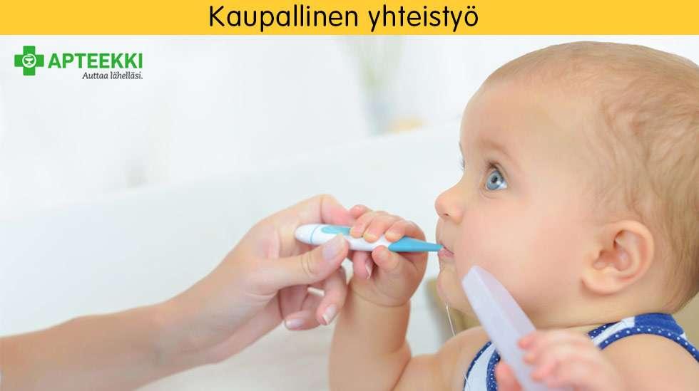 Kipu- ja kuumelääkkeet kannattaa antaa lapselle suun kautta joko mikstuurana tai tablettina, joilla saadaan luotettavammin täsmällinen vaikutus.
